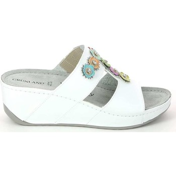 Shoes Women Sandals Grunland CI1247 Sandals Women Bianco Bianco