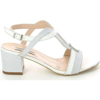 Shoes Women Sandals Grunland SA1602 High heeled sandals Women Bianco Bianco