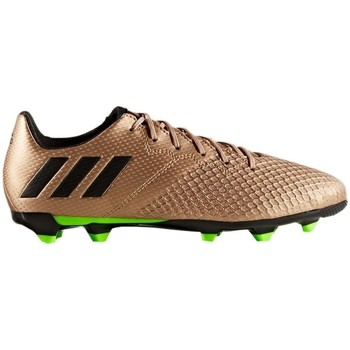Shoes Children Football shoes adidas Originals Messi 163 FG Golden-Green-Black