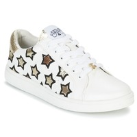 Shoes Women Low top trainers Le Temps des Cerises SACHA White