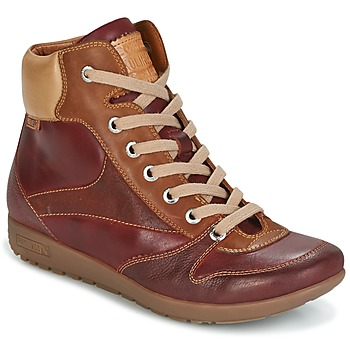 Shoes Women Hi top trainers Pikolinos LISBOA W67 Brown