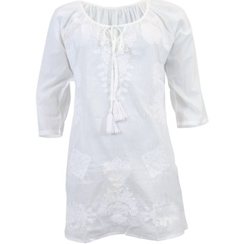 Clothing Women Tunics Phax Tunic  Chan Chan Nights White WHITE