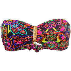 Clothing Women Bikini Separates Phax Bandeau Swimsuit  Mandala Multicolor MULTICOLOUR