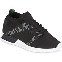 Shoes Men Low top trainers Cash Money ARMY Black / KAKI