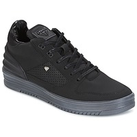 Shoes Men Low top trainers Cash Money STATES Black / Grey