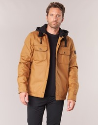 Clothing Men Jackets Element WADE Brown / Black