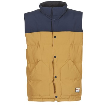 Clothing Men Duffel coats Element EASTON Marine / Beige