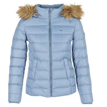 Clothing Women Duffel coats Hilfiger Denim THDW BASIC DOWN JACKET Blue