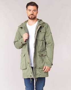 Clothing Men Parkas Tommy Jeans THDM WASHED PARKA 27 Kaki