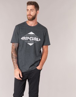 Clothing Men short-sleeved t-shirts Rip Curl BIG MAMA DIAMOND Black