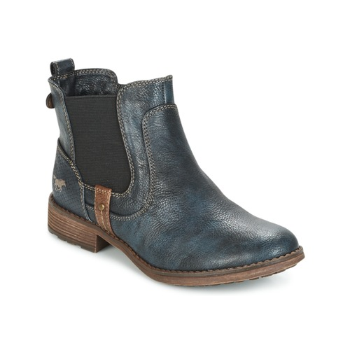 Shoes Women Mid boots Mustang NANI Marine