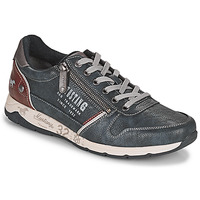 Shoes Men Low top trainers Mustang BRICA Marine