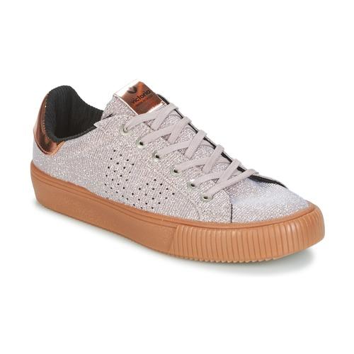 Shoes Women Low top trainers Victoria DEPORTIVO LUREX Grey