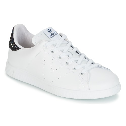 Shoes Women Low top trainers Victoria DEPORTIVO BASKET PIEL Blanche / Blue