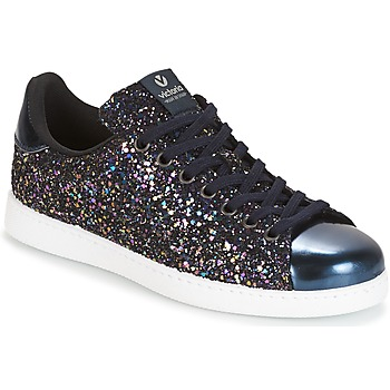 Shoes Women Low top trainers Victoria DEPORTIVO BASKET GLITTER Marine