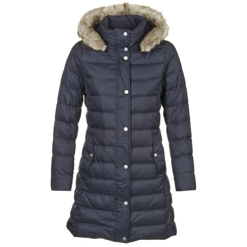 tommy hilfiger tyra down coat marine free delivery with spartoo uk clothing duffel coats. Black Bedroom Furniture Sets. Home Design Ideas