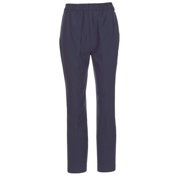 Clothing Women 5-pocket trousers Tommy Hilfiger LIBBY PULL ON PANT Marine