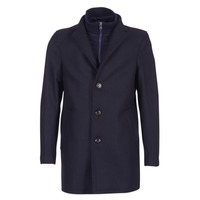 Clothing Men coats Tommy Hilfiger CHASE TWILL COAT Marine
