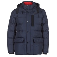 Clothing Men Duffel coats Tommy Hilfiger TOMMY DOWN HDD BOMBE MARINE