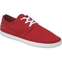 Shoes Men Low top trainers Lacoste Lydro Deck Red