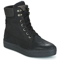 Shoes Women Hi top trainers Bullboxer GANDIA Black