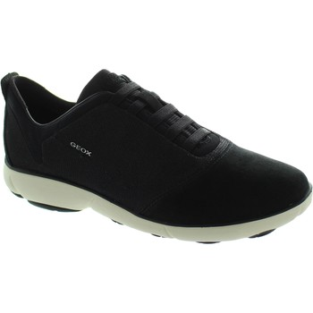 Shoes Women Low top trainers Geox D Nebula G Black