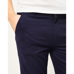 Clothing Men chinos The Idle Man Slim Fit Chino Navy