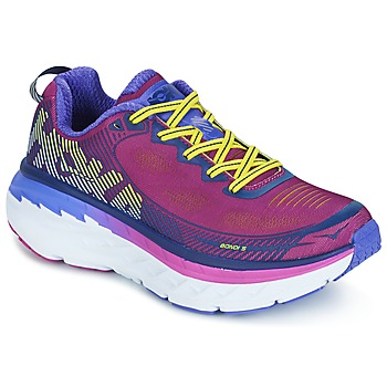 Shoes Women Running shoes Hoka one one BONDI 5 Green / Yellow