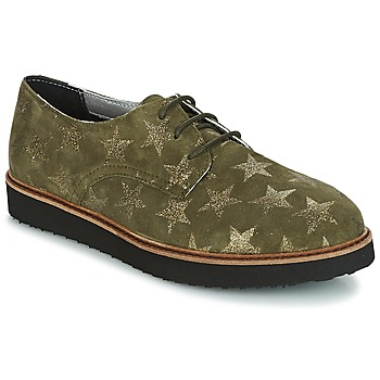 Shoes Women Derby Shoes Ippon Vintage JAMES SKY Kaki