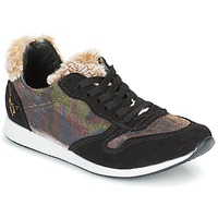 Shoes Women Low top trainers Ippon Vintage RUN SNOW Black / Coppery