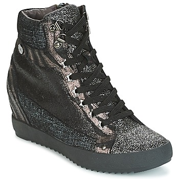 Shoes Women Hi top trainers Mam'Zelle LOENA Black