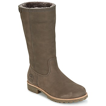 Shoes Women High boots Panama Jack BAMBINA Grey