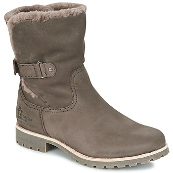 Shoes Women Mid boots Panama Jack FELIA Grey
