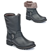 Shoes Women Mid boots Panama Jack SINGAPUR-IGLOO Black