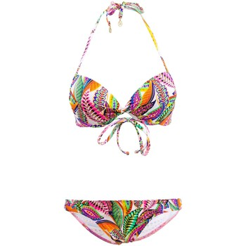 Clothing Women Bikinis Lolita Angel 2 Pieces Swimsuit Balconnette  Curcuba Playa Link Multicolor MULTICOLOUR