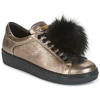 Shoes Women Low top trainers Tosca Blu CERVINIA POM PON Black