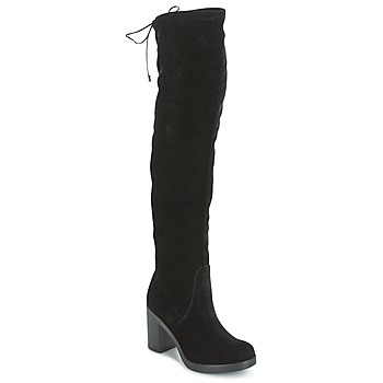 Shoes Women Thigh boots Tosca Blu ST MORITZ Black
