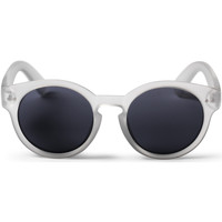 Watches Men Sunglasses Cheapo Burn Sunglasses - Transparent / Black Silver