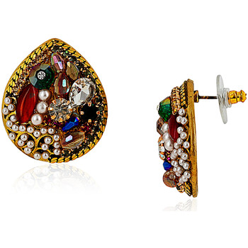 Watches Women Earrings Fashionvictime Earrings For Women By - Base Metal Jewel- Crystal, Pearl Multicolore,