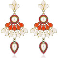 Watches Women Earrings Fashionvictime Earrings For Women By  - Base Metal Jewel- Pearl Blanc
