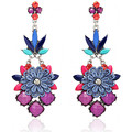 Watches Women Earrings Fashionvictime Earrings For Women By  - Base Metal Jewel- Crystal Multicolore,