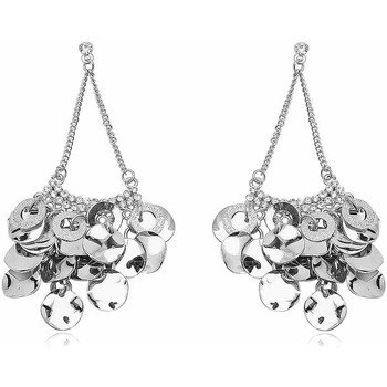 Watches Women Earrings Fashionvictime Earrings For Women By  - Rhodium Plated Jewel- Crystal Argenté