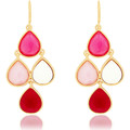 Watches Earrings Fashionvictime Earrings For Women By  - Base Metal Jewel Multicolore,