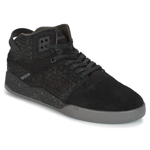 Shoes Hi top trainers Supra SKYTOP III Black / Grey