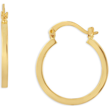 Watches Women Earrings Fashionvictime Earrings Hoops For Women By  - Gold And Rhodium Plated Jewel Doré,
