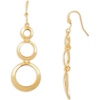 Watches Women Earrings Fashionvictime Earrings For Women By  - Gold And Rhodium Plated Jewel Doré,