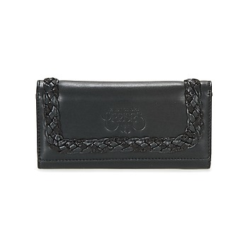 Bags Women Wallets Le Temps des Cerises PHOEBE PM1 Black