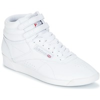 Shoes Women Low top trainers Reebok Classic FREESTYLE White / Silver