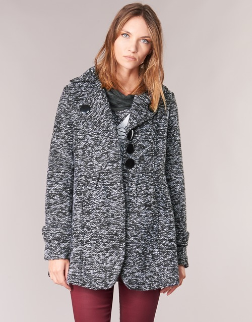 Clothing Women coats Smash JAVA Grey
