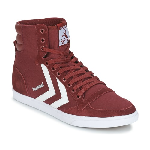 Shoes Hi top trainers Hummel STADIL CANEVAS HIGH Bordeaux